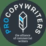 Procopywriters logo for freelance copywriters