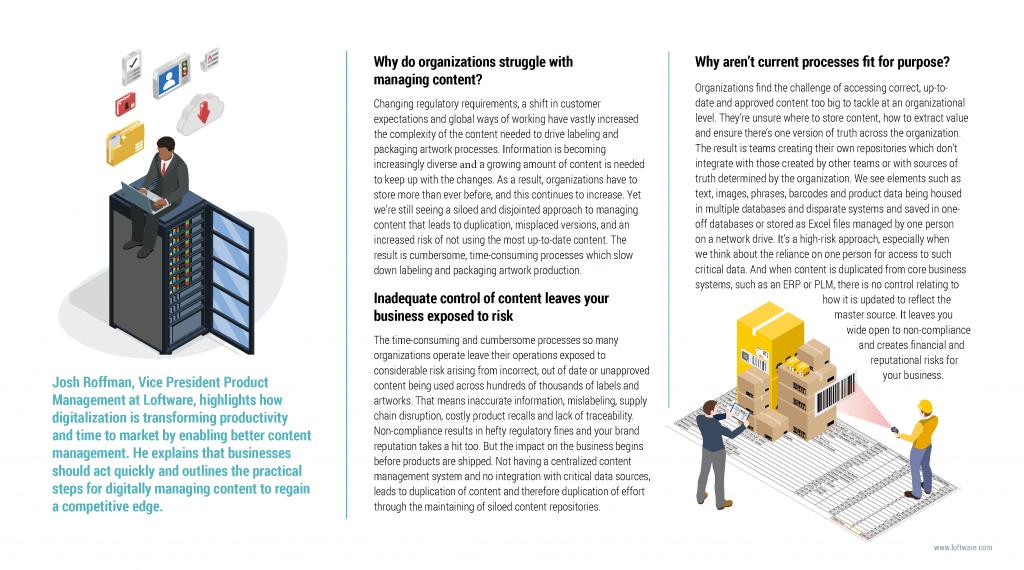 Loftware: Marketing campaign copywriting page 10
