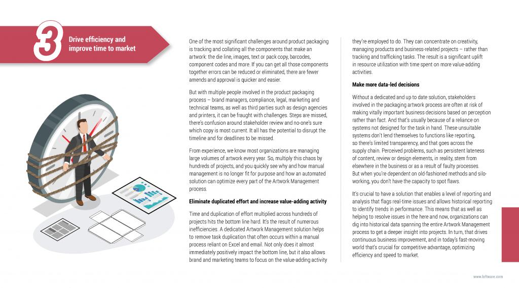 Loftware: Marketing campaign copywriting page 19