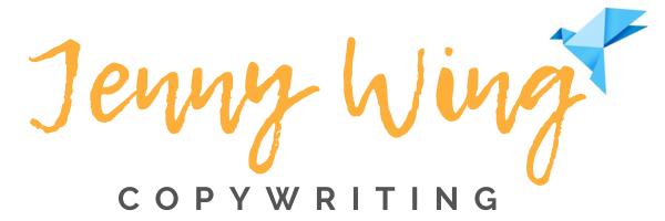 Jenny Wing Professional Copywriter Nottingham and York logo